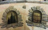 Adega de vinho — Fotografia Stock