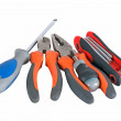 Pliers and screwdriver tools — Stock Photo