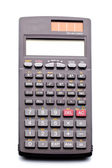 Scientific calculator on the isolated background — Stock Photo