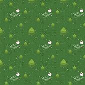 Blank jul sömlös bakgrundsmönster — Stockvektor