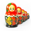Russian traditional souvenir Matryoshka — Foto Stock