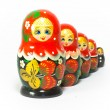 Russian traditional souvenir Matryoshka — Stock Photo