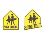 Surfing school logo — Stock Vector #27343915