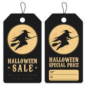 хэллоуин специальными ценниками — Cтоковый вектор
