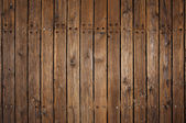 Old wood flooring on a pier — Stock Photo