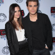 Paul Wesley and Torrey DeVitto - Stock Photo