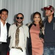 Mario Lopez, Yandel, Jennifer Lopez, Enrique Iglesias — Stock Photo