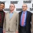 :Will Smith, Tommy Lee Jones, Barry Sonnenfeld, Josh Brolin — 图库照片 #14003428