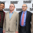 Foto de Stock  : :Will Smith, Tommy Lee Jones, Barry Sonnenfeld, Josh Brolin
