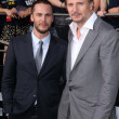 Taylor Kitsch, Liam Neeson — Stock Photo #14004203