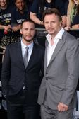Taylor Kitsch, Liam Neeson — Stock Photo