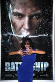 "Название:Nadeea at the ""Battleship"" Los Angeles Premiere, Nokia Theatre L.A. Live — Stock Photo"