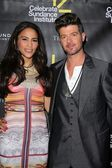 Paula Patton, Robin Thicke — Stock Photo