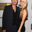 Foto de Stock  : Aaron Paul and Lauren Parsekian