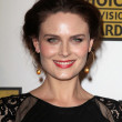 Emily Deschanel — Foto de Stock