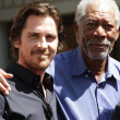 ������, ������: Christian Bale Morgan Freeman