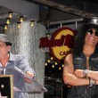 Stock fotografie: Slash, Charlie Sheen