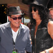 Charlie Sheen and Slash — Stock Photo