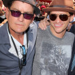 Stock Photo: Charlie Sheen, Clifton Collins Jr.