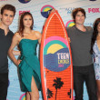 Stock Photo: Paul Wesley, NinDobrev, ISomerhalder and Kat Graham