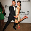 Helio Castroneves, Karina Smirnoff - Stock Photo