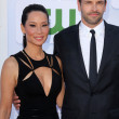 Lucy Liu, Jonny Lee Miller   — Stock Photo