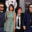 Постер, плакат: Jack Osbourne Lisa Stelly Sharon Osbourne and Ozzy Osbourne