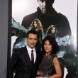 Постер, плакат: Colin Farrell and his sister Claudine
