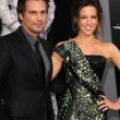 Len Wiseman, Kate Beckinsale — Stock Photo