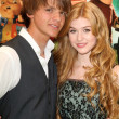 Royalty-Free Stock Photo: Joel Courtney, Katherine McNamara