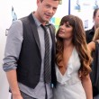 Cory Monteith, Lea Michele — Stock Photo