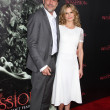 Jeffrey Dean Morgan and Kyra Sedgwick — Stock Photo