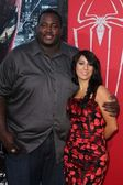 Quinton Aaron, Liana Mendoza — Stock Photo