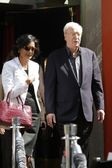 Michael Caine and wife Shakira Caine — Stock Photo