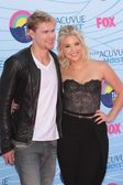 Chord Overstreet and Ashley Benson — Stock Photo