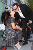 Pepe Aguilar with wife Anelisse — Stock Photo