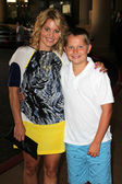Candace Cameron Bure and son Maks — Stock Photo