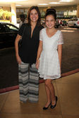 Bailee Madison and mother Patty Riley — Stock Photo