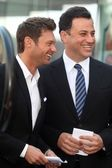 Ryan Seacrest, Jimmy Kimmel — Stock Photo