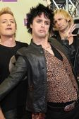 Tre Cool, Billie Joe Armstrong, Mike Dirnt — Stock Photo