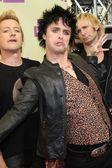 Tre Cool, Billie Joe Armstrong, Mike Dirnt — Stock Photo