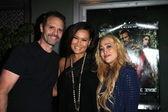 Michael Biehn, Tia Carrere, Jennifer Blanc — Stock Photo