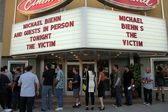 "Atmosphere at ""The Victim"" Los Angeles Theatrical Release, autograph — Stock Photo"