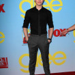 "Stock fotografie: Chris Colfer at ""Glee"" Premiere Screening And Reception, Paramount Stu"