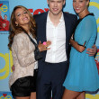 Vanessa Lengies, Chord Overstreet and Heather Morris - Stock Photo
