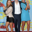 Stock Photo: VanessLengies, Chord Overstreet and Heather Morris
