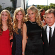 Michael J. Fox, Tracy Pollan and family - Stock Photo