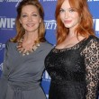 Sharon Lawrence, Christina Hendricks — Stock Photo