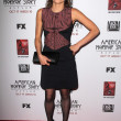 Stock Photo: Lizzie Brochere at Premiere Screening of FXs AmericHorror Story Asylum, Paramount Theater, Hollywood, C10-13-12