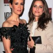 Stock Photo: Sarah Paulson, AmandPeet at Premiere Screening of FXs AmericHorror Story Asylum, Paramount Theater, Hollywood, C10-13-12